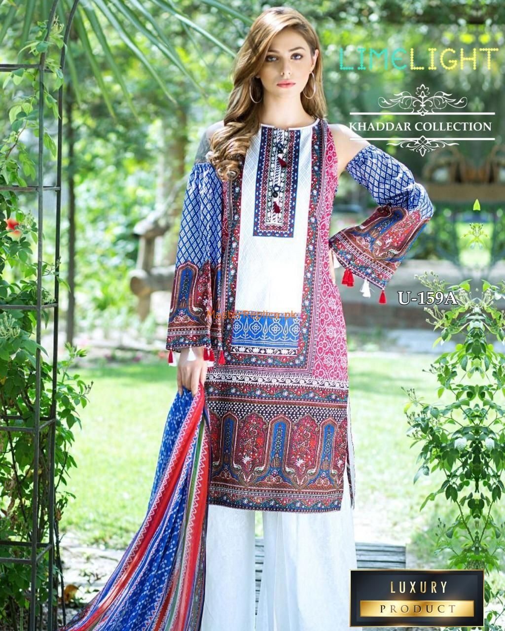 Limelight Luxury Embroidered Winter Khaddar Collection Replica In 2020 New Pakistani Dresses Pakistani Dress Design Pakistani Outfits