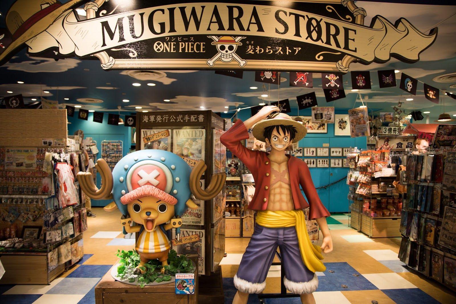 Gomu-Gomu One Piece Store | Tokyo | Japan | Tokyo japan, Pieces, One piece