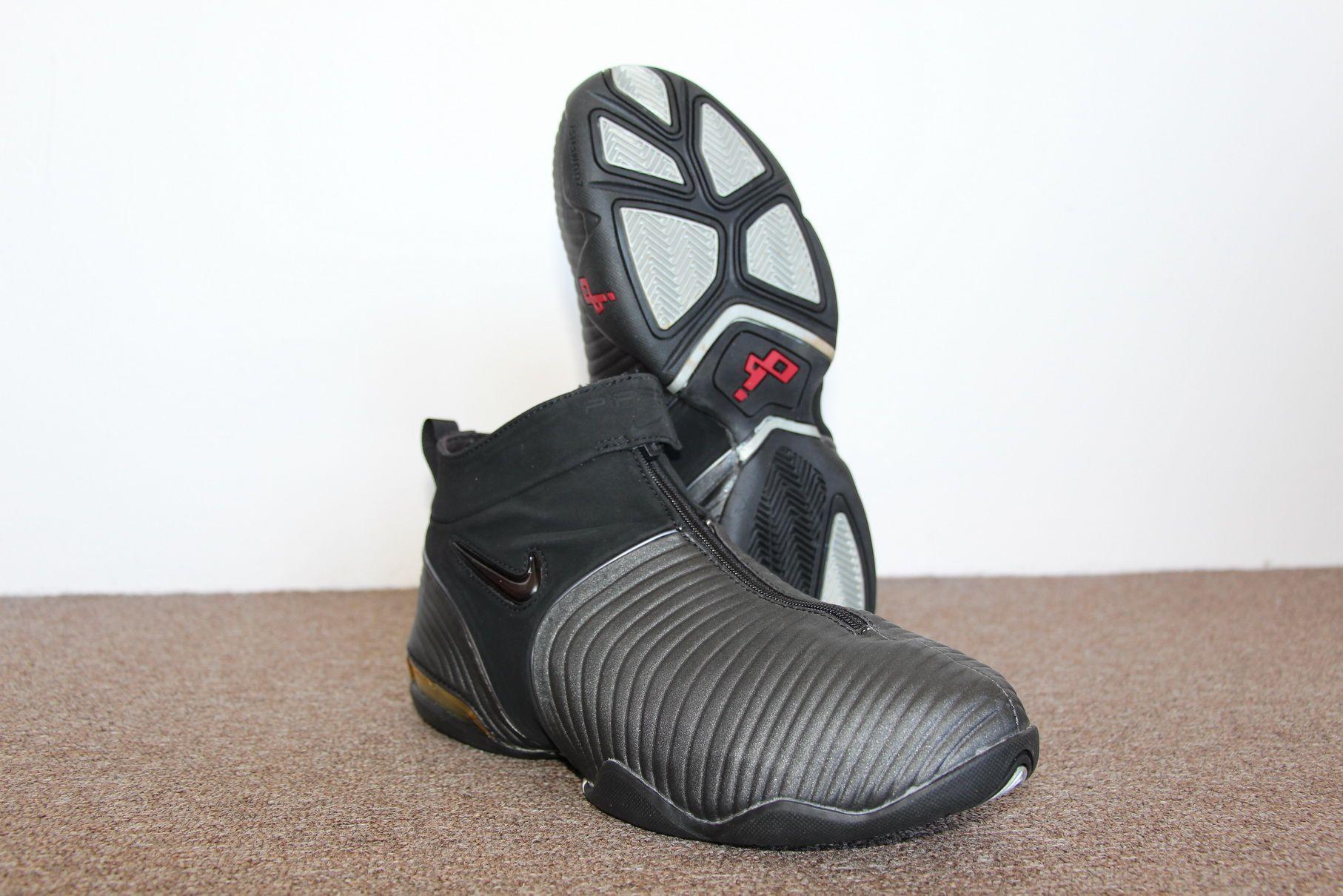 4577af035b2c6 Nike Air Pippen V 2001 (Black White Grey)