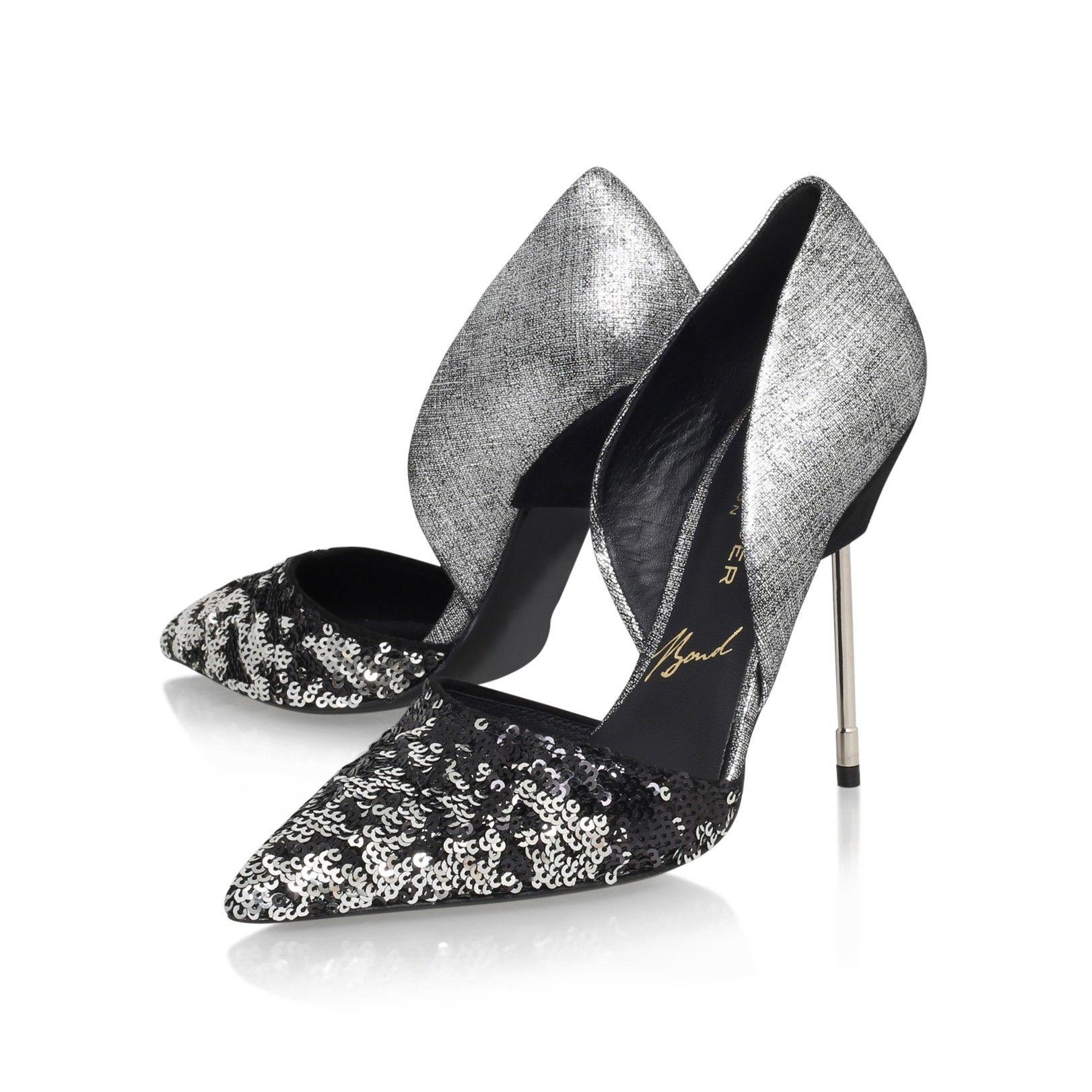 bond black high heel court shoes from Kurt Geiger London