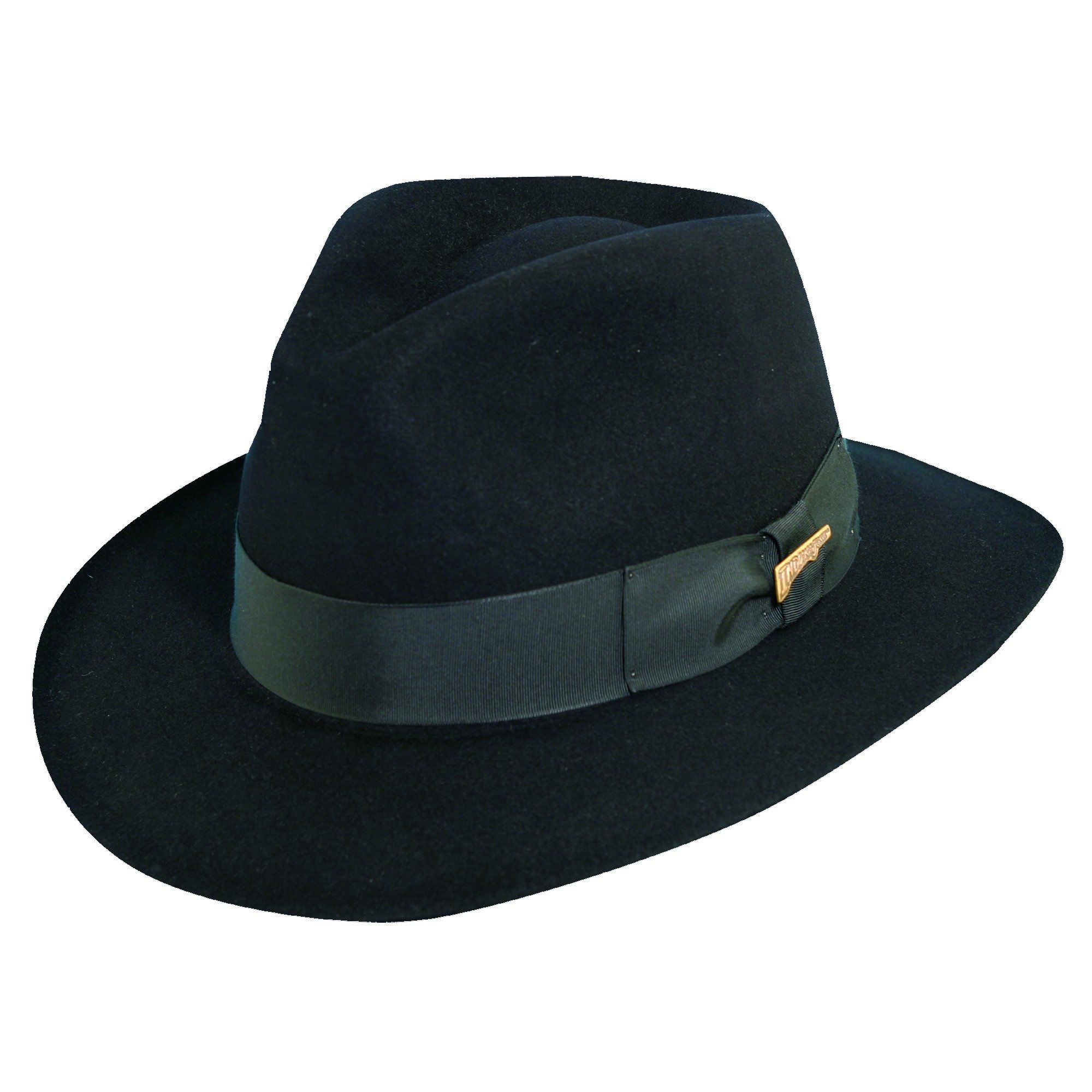 19d6aa8c This fedora hat is inspired by the Indiana Jones movie. The 2.5 inch brim  will shade the sun. The satin lining will keep you cool.