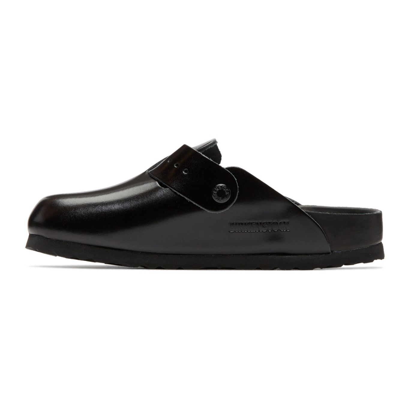 Rick Owens BIRKENSTOCK Edition Leather Boston Slip-On Loafers uxiQ4