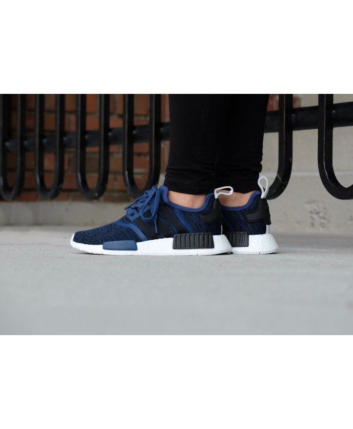 0af29a5fe Adidas Sale Nmd R1 Mystery Blue Core Black Trainers