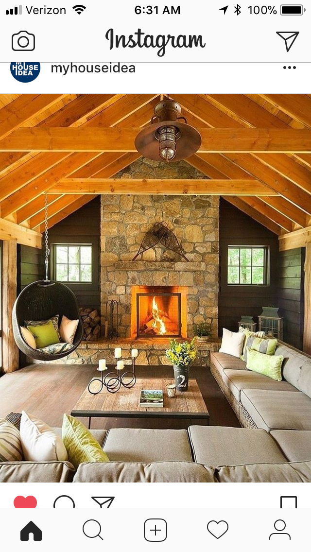 Modern Cabin Interior, Modern Cabin Decor, Modern Rustic, Rustic Style, Rustic Bench
