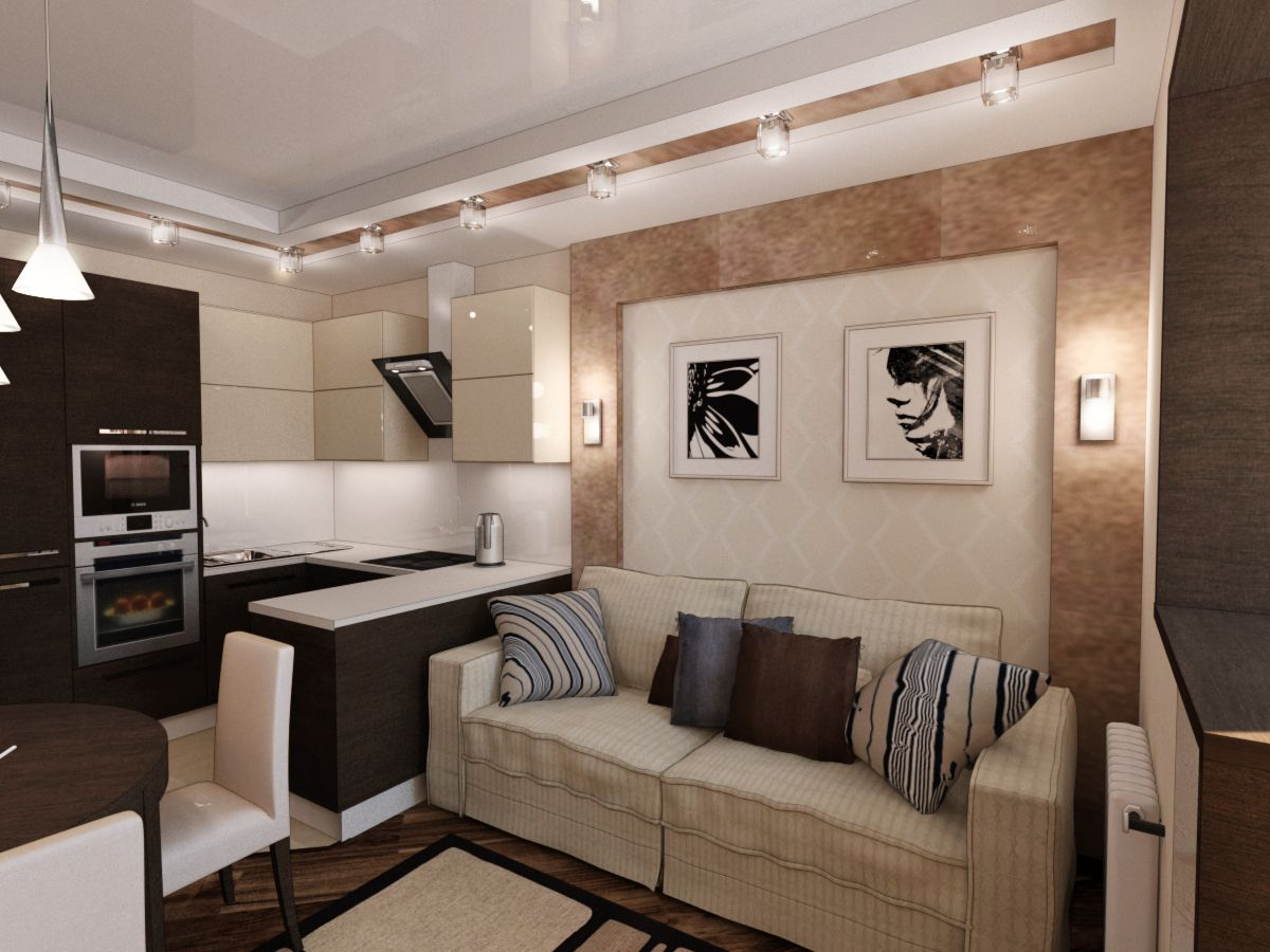 ремонт квартир студий - Поиск в Google | Дизайн кухни ...
