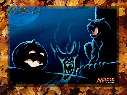 All Hallow S Eve Mtg Your Graveyard Is Alive Creepy Art Halloween Magic Hallows Eve