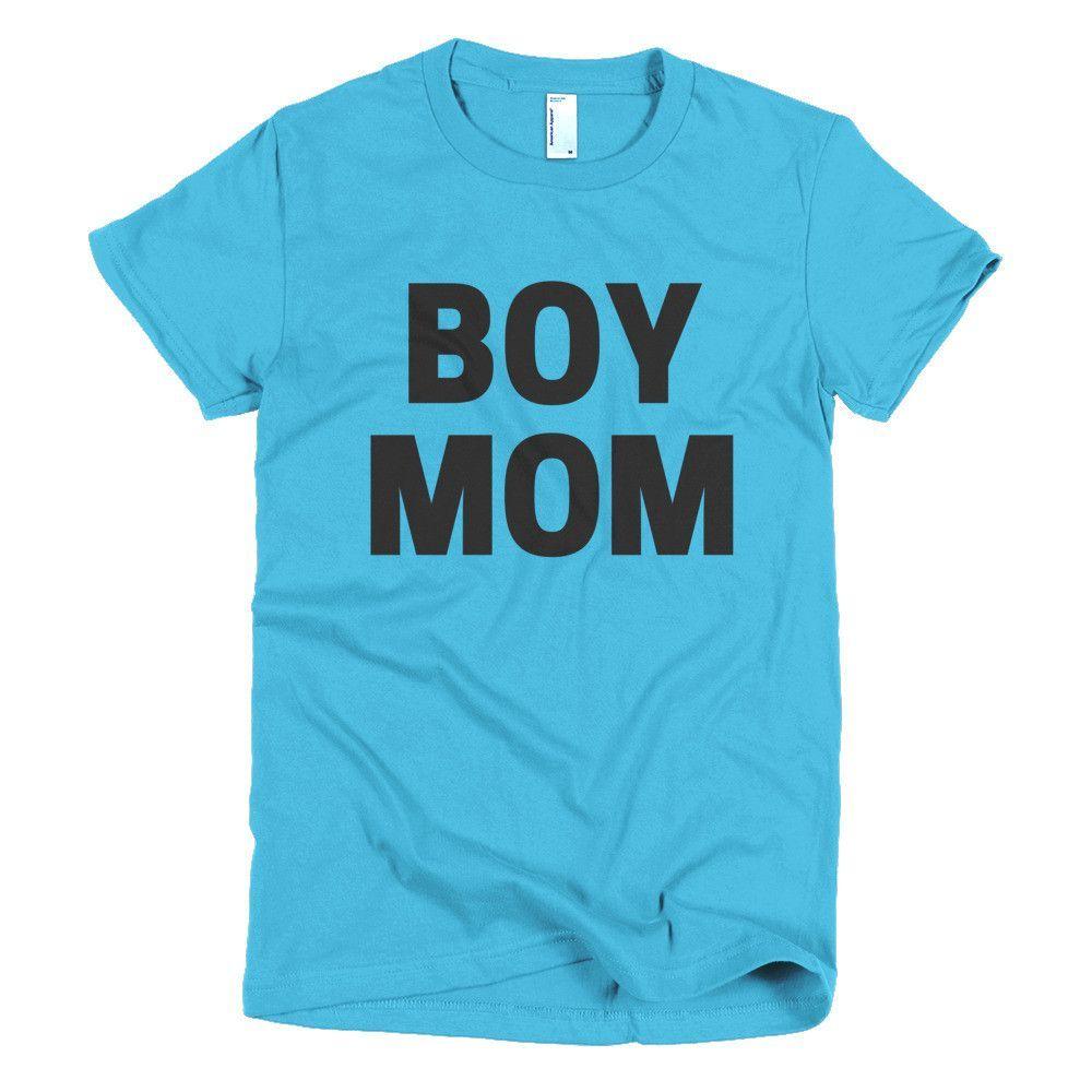 Boy mom short sleeve womenus tshirt products pinterest products