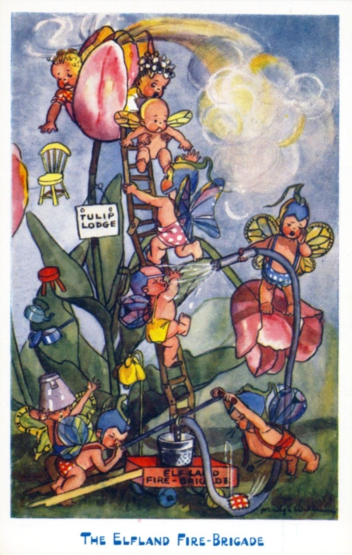 Madge Williams postcard