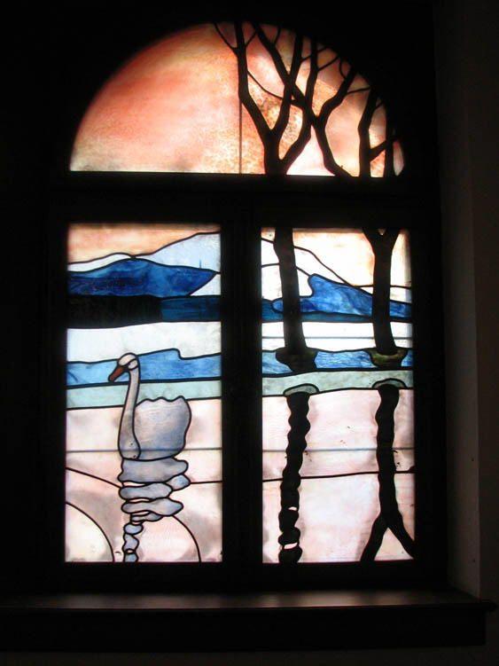 Jugendstil Fenster   Stained glass patterns, Stained glass ...