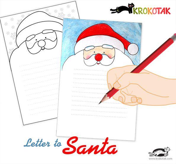 A letter to Santa | krokotak