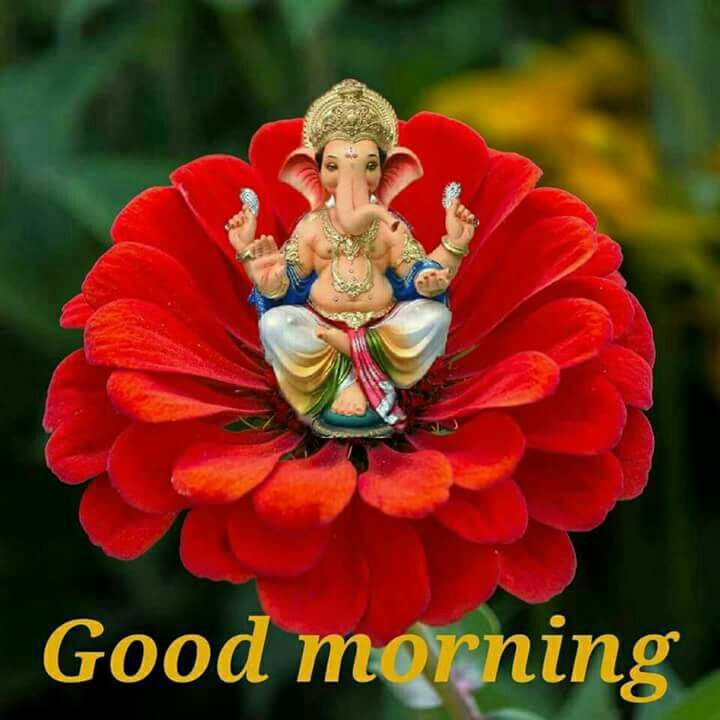 Image result for Good morning images ganesh