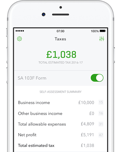 QuickBooks Self Employed | Self Assessment Tax Software