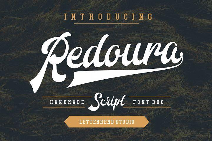 Redoura Font Duo (20% OFF) from FontBundles.net