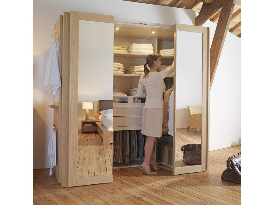 dressing cabine mini pi ce dressing dans une armoire cabine dressing et armoires. Black Bedroom Furniture Sets. Home Design Ideas