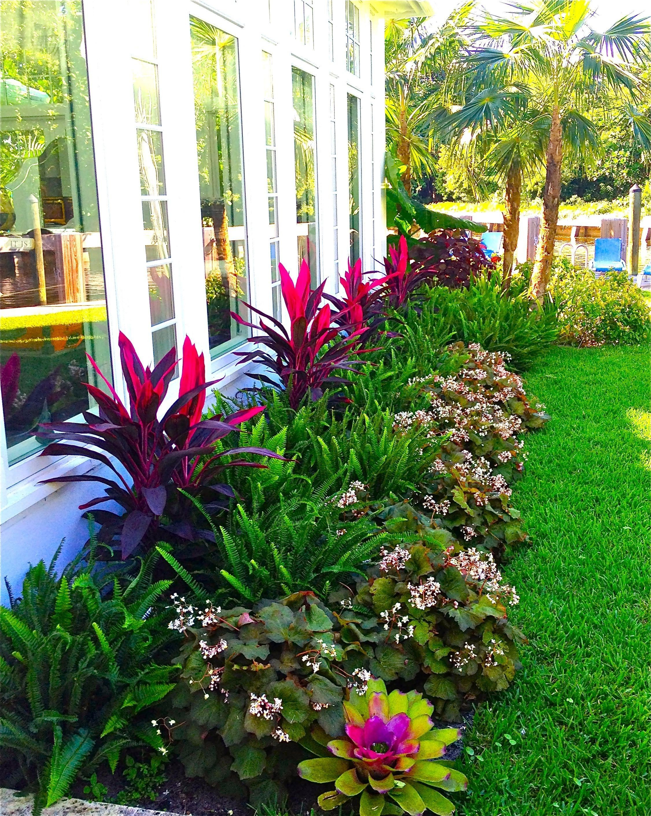 11 Smart Tricks Of How To Make Florida Backyard Landscaping Front Yard Landscaping Design Tropical Landscaping Tropical Backyard