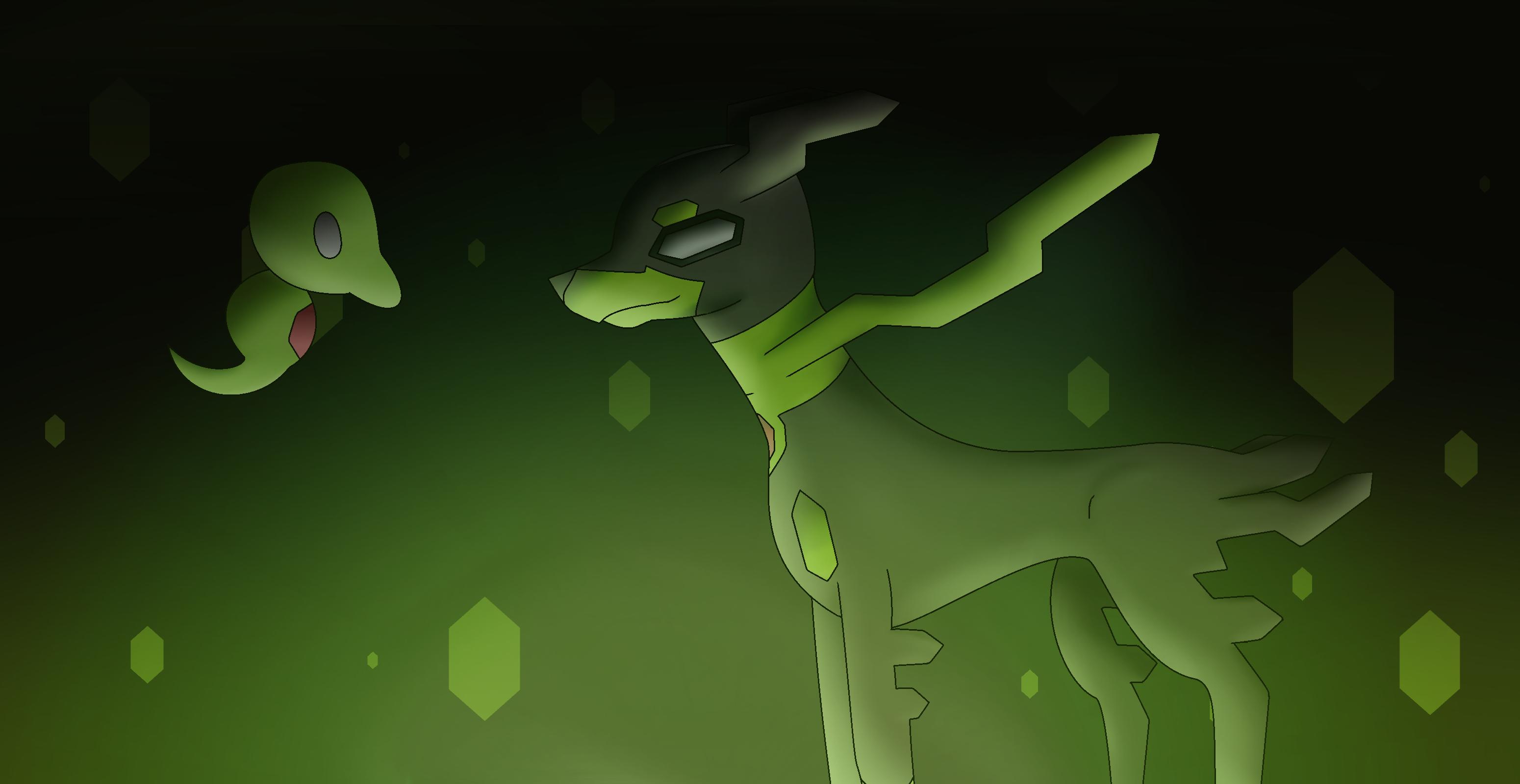 Zygarde 10% and Zygarde Core | Stuff I Made | Pinterest | Pokémon