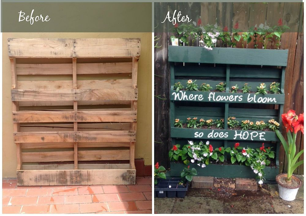 This Pallet Project Is Even Better Than Mason Jars Agriculture