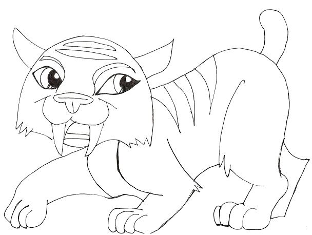The Cat Pets Of Toralei Stripe Monster High Coloring Pages - Monster ...