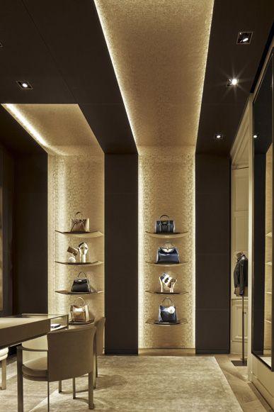 FENDI Montenapoleone, Milan | WORKS - CURIOSITY - キュリオシティ - #ceiling