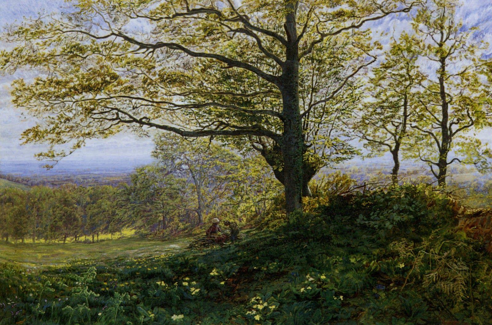 Vicat Cole Art 19th century British Painting