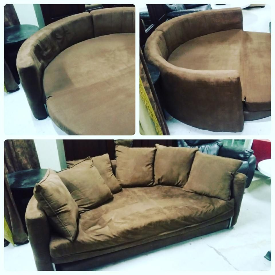 For Sale Sofa Bed Half Chair Round Bed Good Condation Price 40 Bd للبيع كرسي سرير لون بني بحالة جيدة السعر 40 Bd Tel 33770050 In 2020 Dream Rooms Room