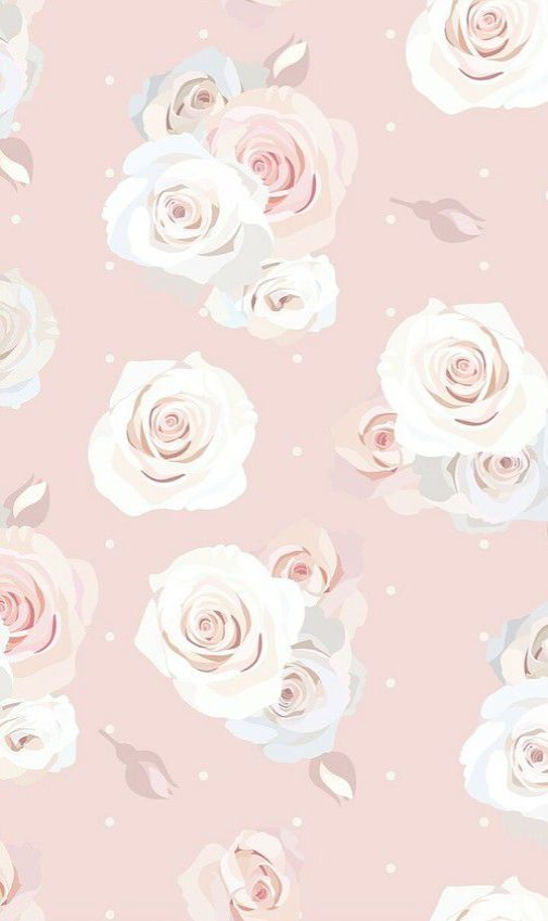 Vintage Floral Background High Res Cute Pink Floral Wallpapers