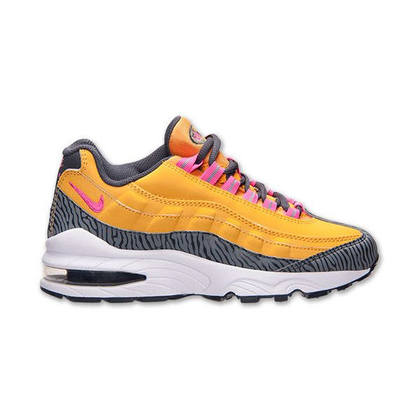 18f2cf7f172 Boys  Grade School Nike Air Max 95 Running Shoes ( 98) ❤ liked on ...