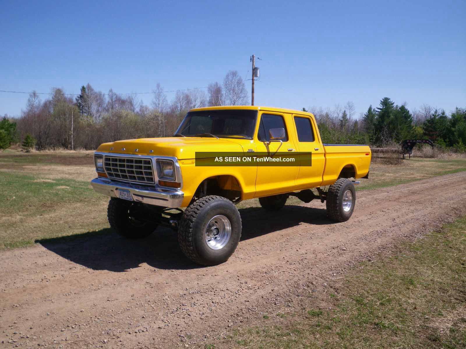 Images about trucks amp cars on pinterest ford trucks and ford trucks - Ford Lifted Yellow Ford Truck