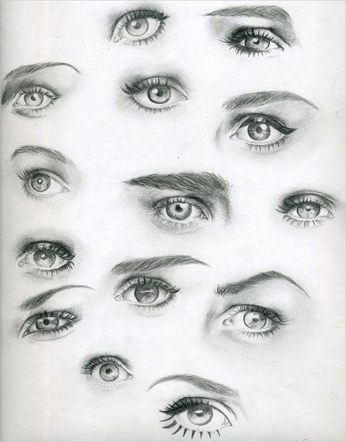 28 Eye Drawings Free Psd Vector Eps Drawings Download Eye Drawing Eye Drawing Tutorials Realistic Drawings