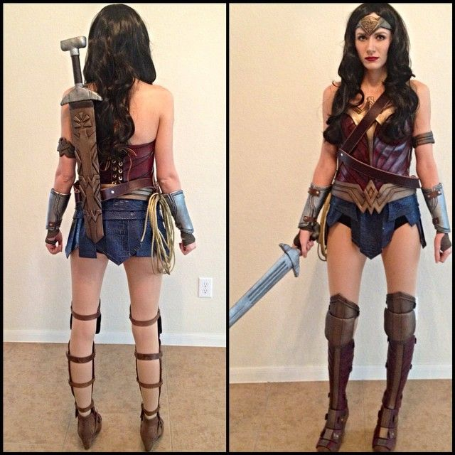 Wonder Woman Cosplay from Batman v Superman: Dawn of Justice | Pinterest | Gal gadot, Wonder ...