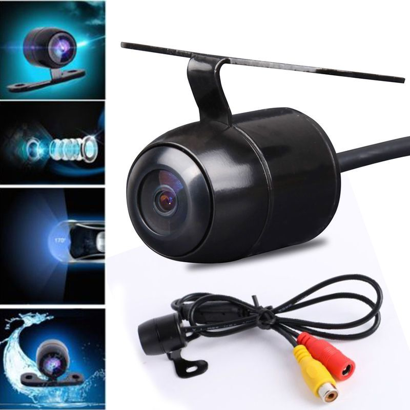 Car Night Vision Rear View Reversing Backup HD IR CCD Camera 170° Waterproof