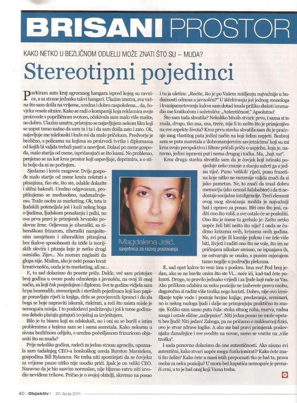 Objektiv_Stereotipni pojedinci
