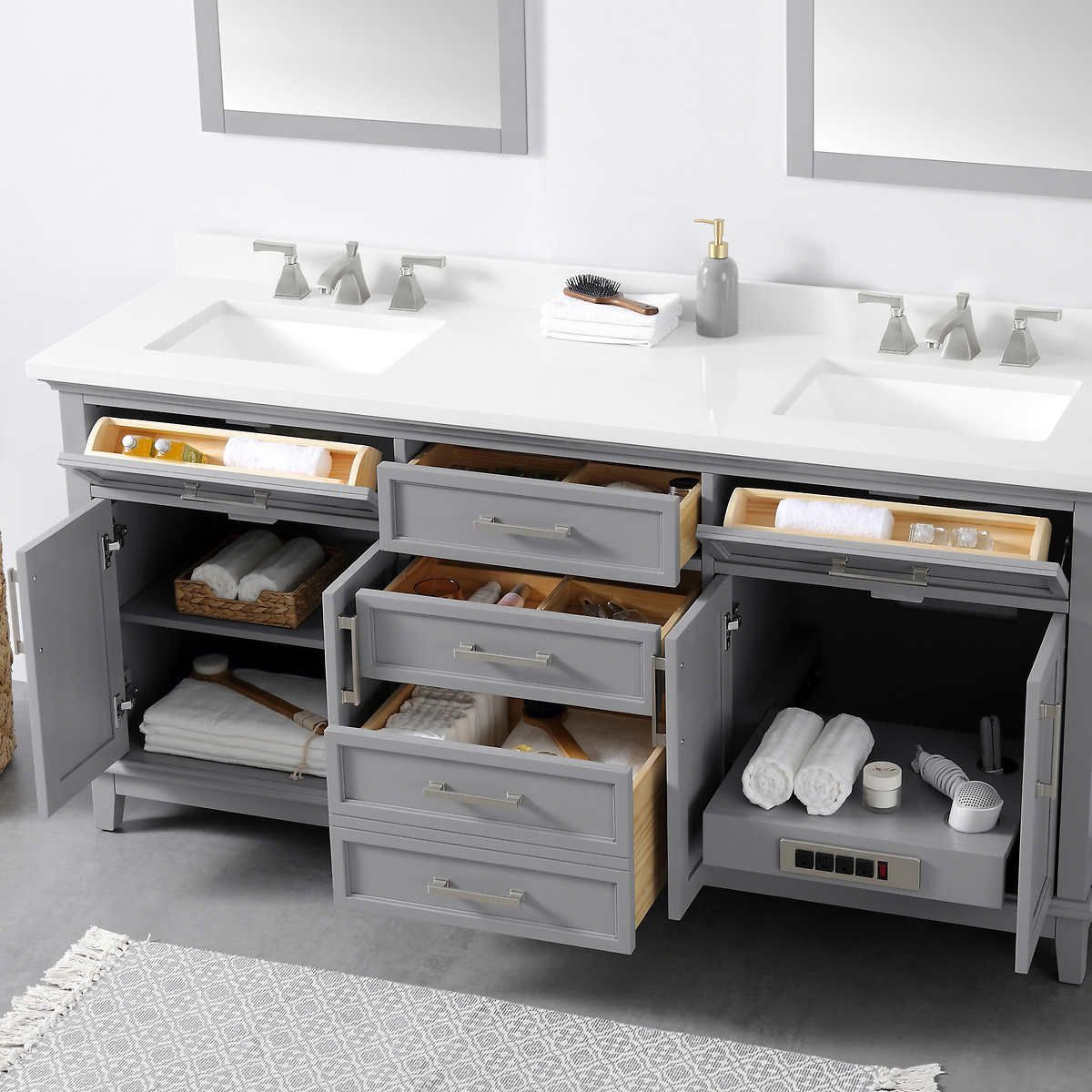 Ove Decors Dylan 72 Bath Vanity In 2021 Bath Vanities Vanity Modern Bathroom Vanity