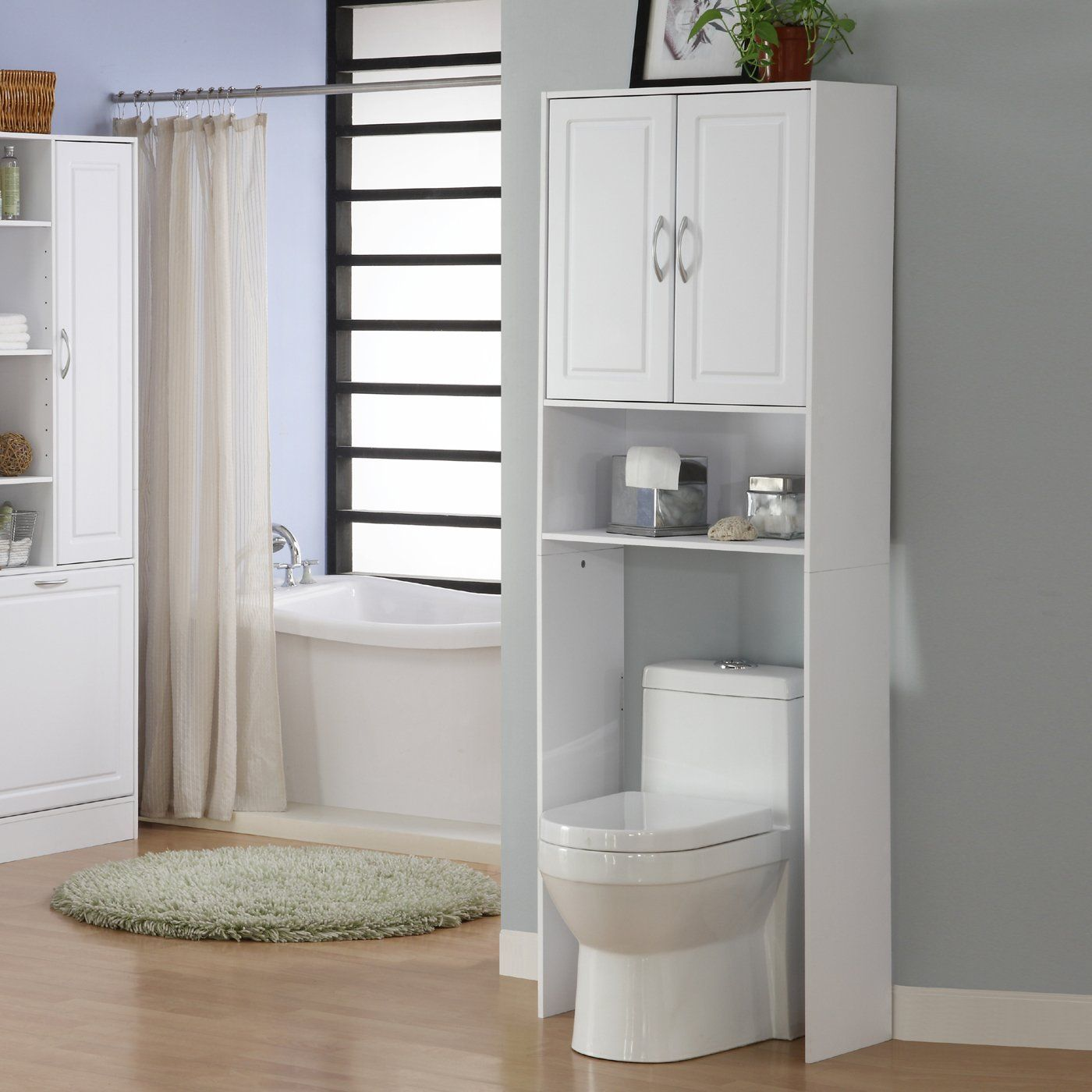 4D Concepts 76421 Double Spacesaver Over-Commode Storage | ATG ...