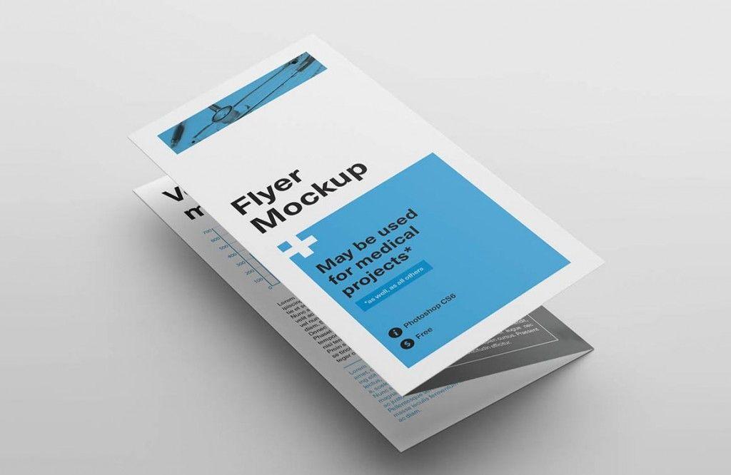 Tri-fold Flyer Mockups Brochures and Banners Pinterest Mockup