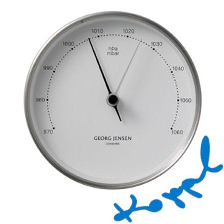 5060591eacf Henning Koppel Barometer, Georg Jensen | Design | Clock, Black ...