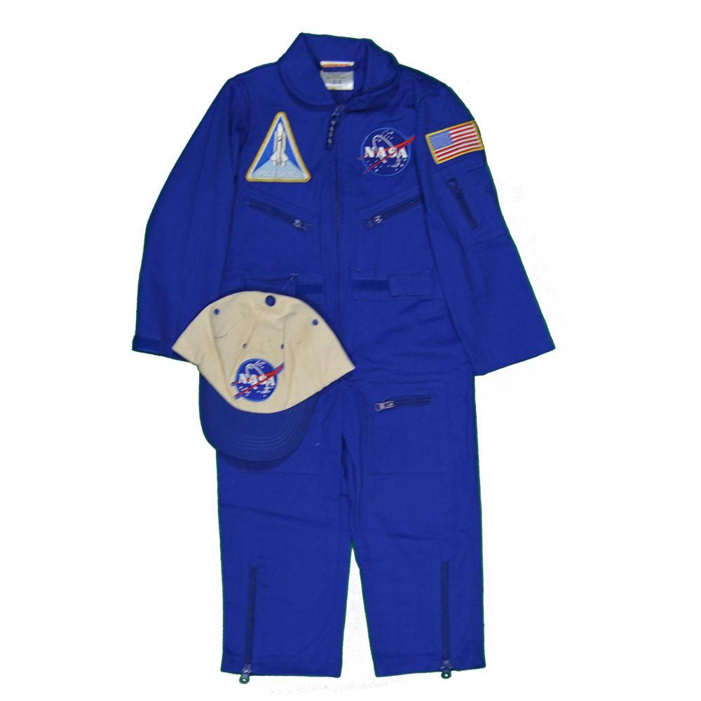 Blue Astronaut Flight Suit | Astronaut costume, Astronaut ...