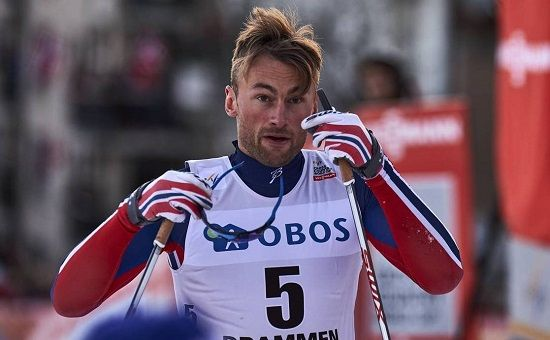 Petter Northug on epävireessä. Kuva: NordicFocus