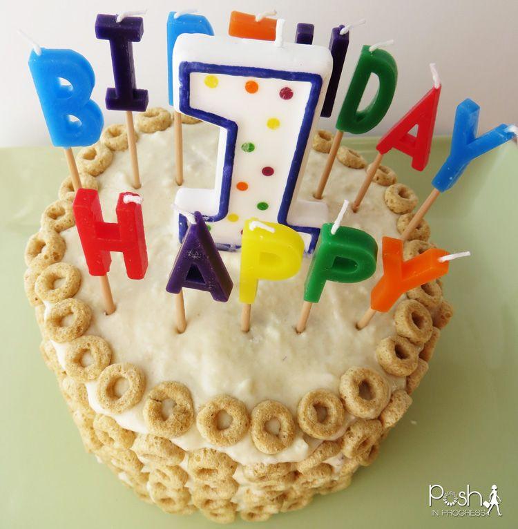 Sugar Free Applesauce And Banana First Birthday Cake