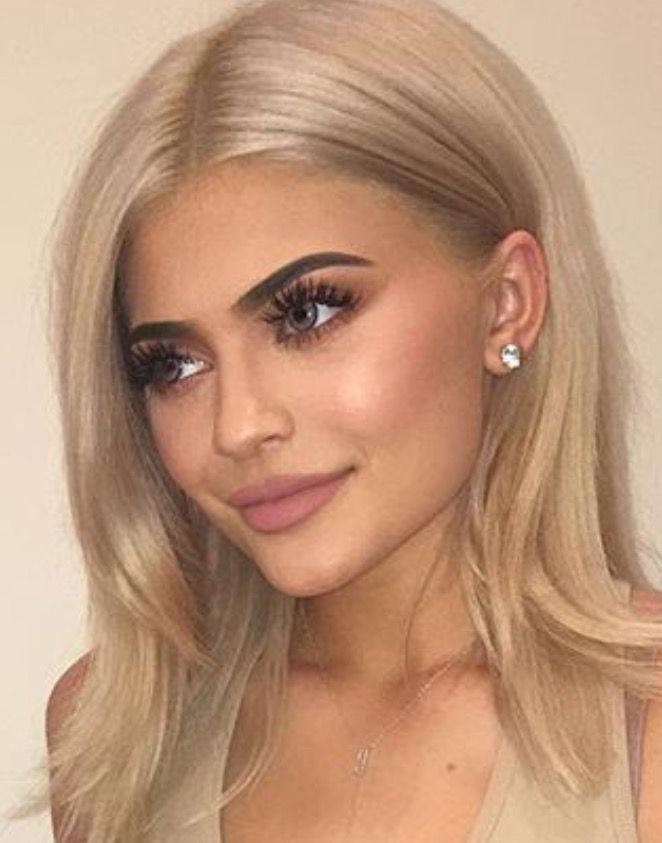 Pin By Emma On Hair Kylie Jenner Hair Jenner Hair Kylie Jenner Blonde