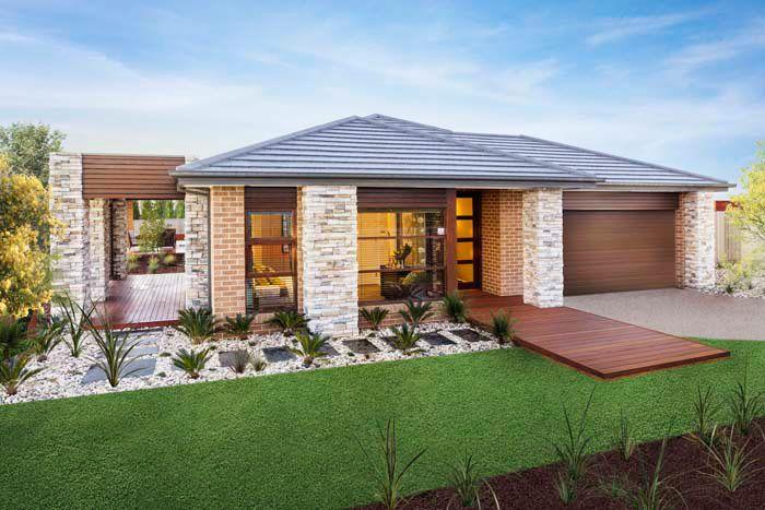 Facades Single Storey House Plans Home Designs Custom Home
