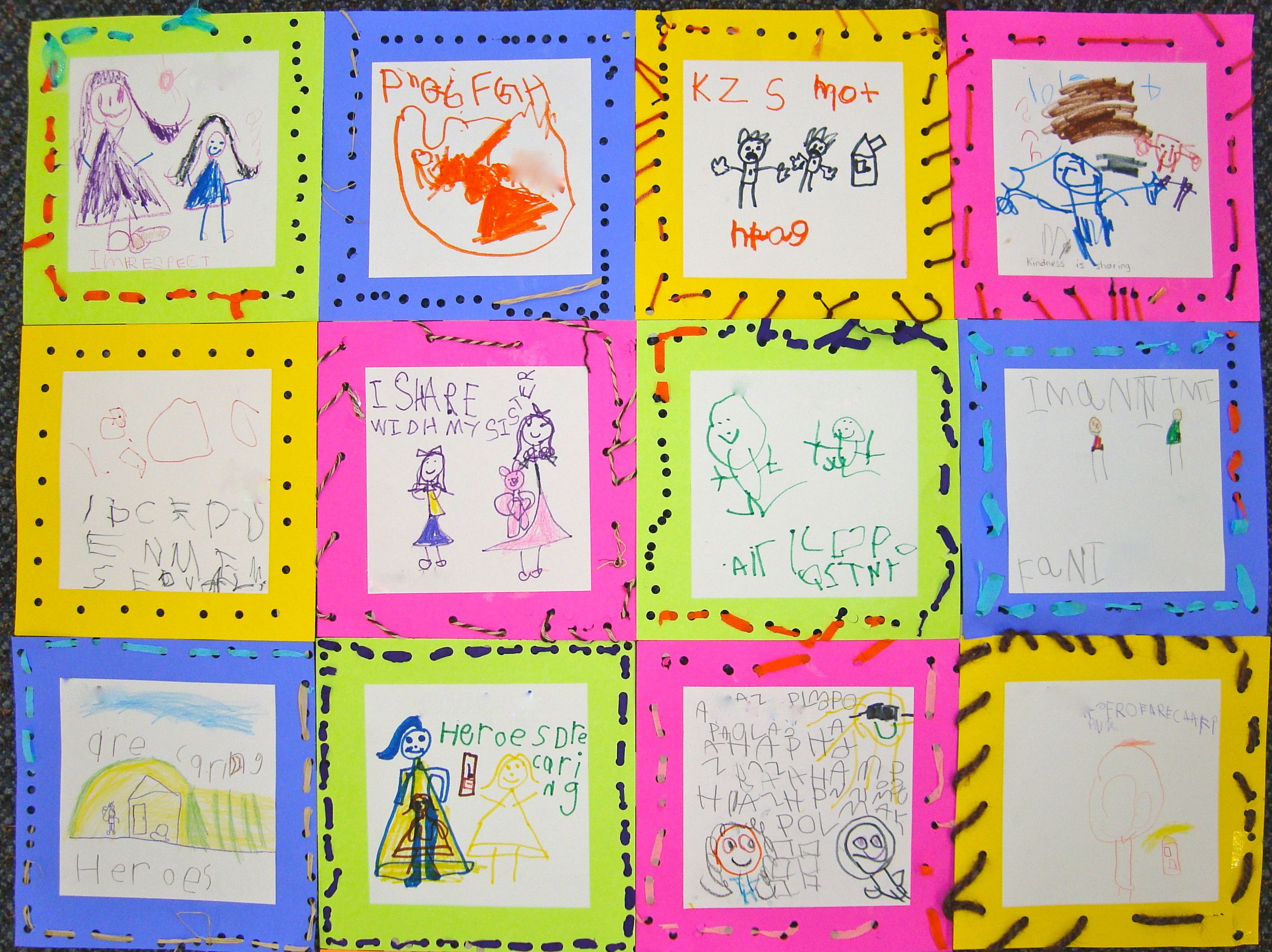 kindness quilt | Social emotional development ...