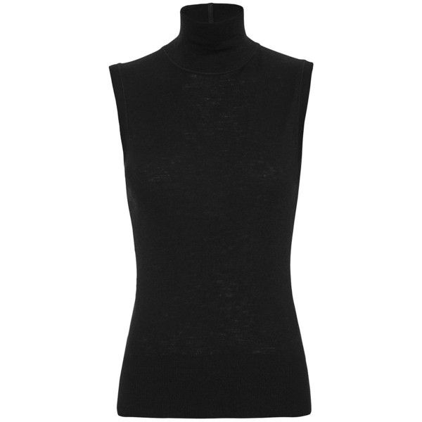 adidas Originals adidas Originals Black Crop Top Turtleneck from SSENSE | ShapeShop