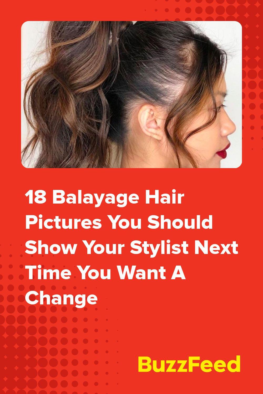 Bangin' balayage anyone in 18   Natural looking highlights ...