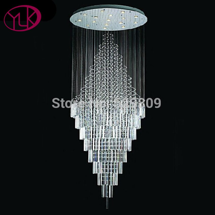 Dimmable Led Light Chandelier For Stair