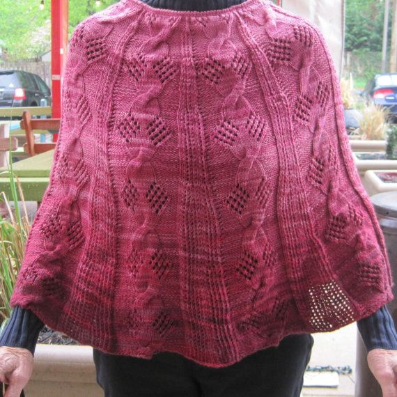 Finished Model Tress Gradient Poncho Have You Got To Work With Any