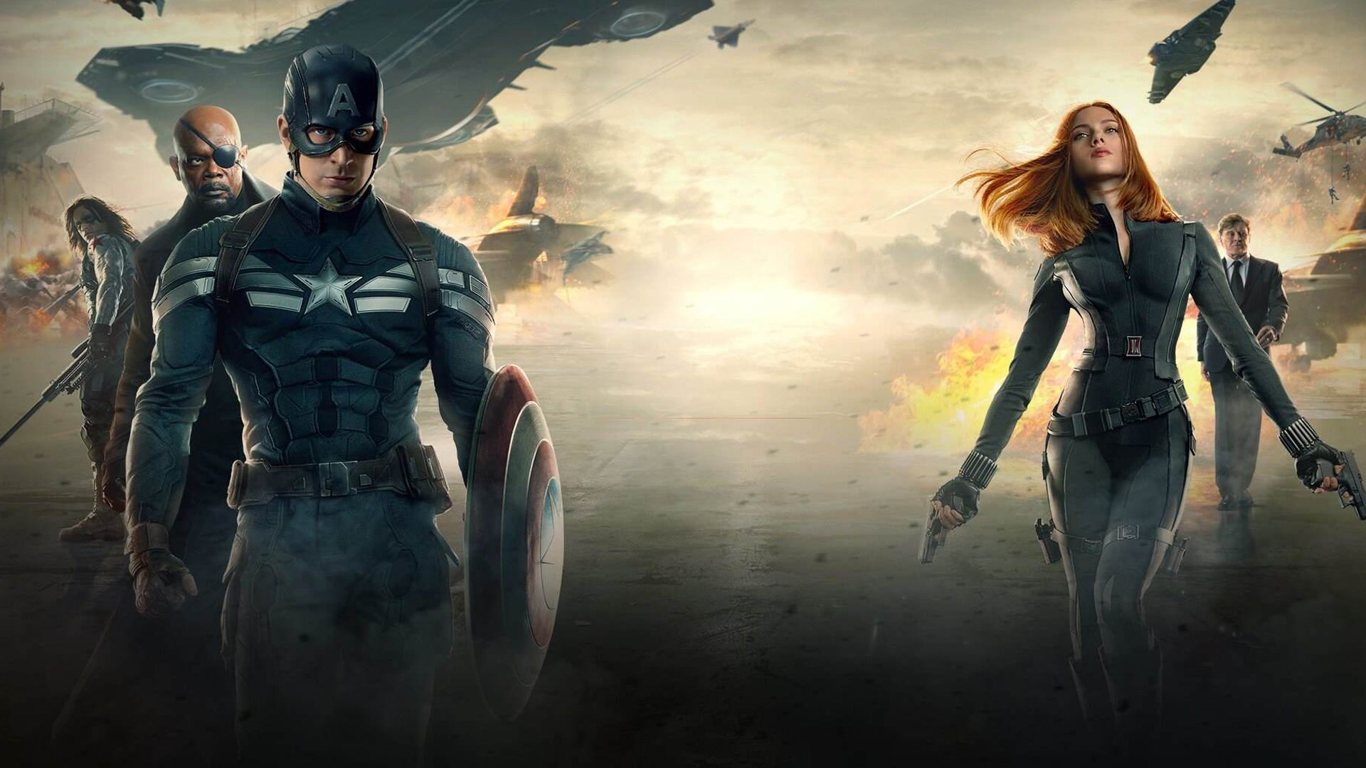 Captain America The Winter Soldier Movie Hd 1920x1080
