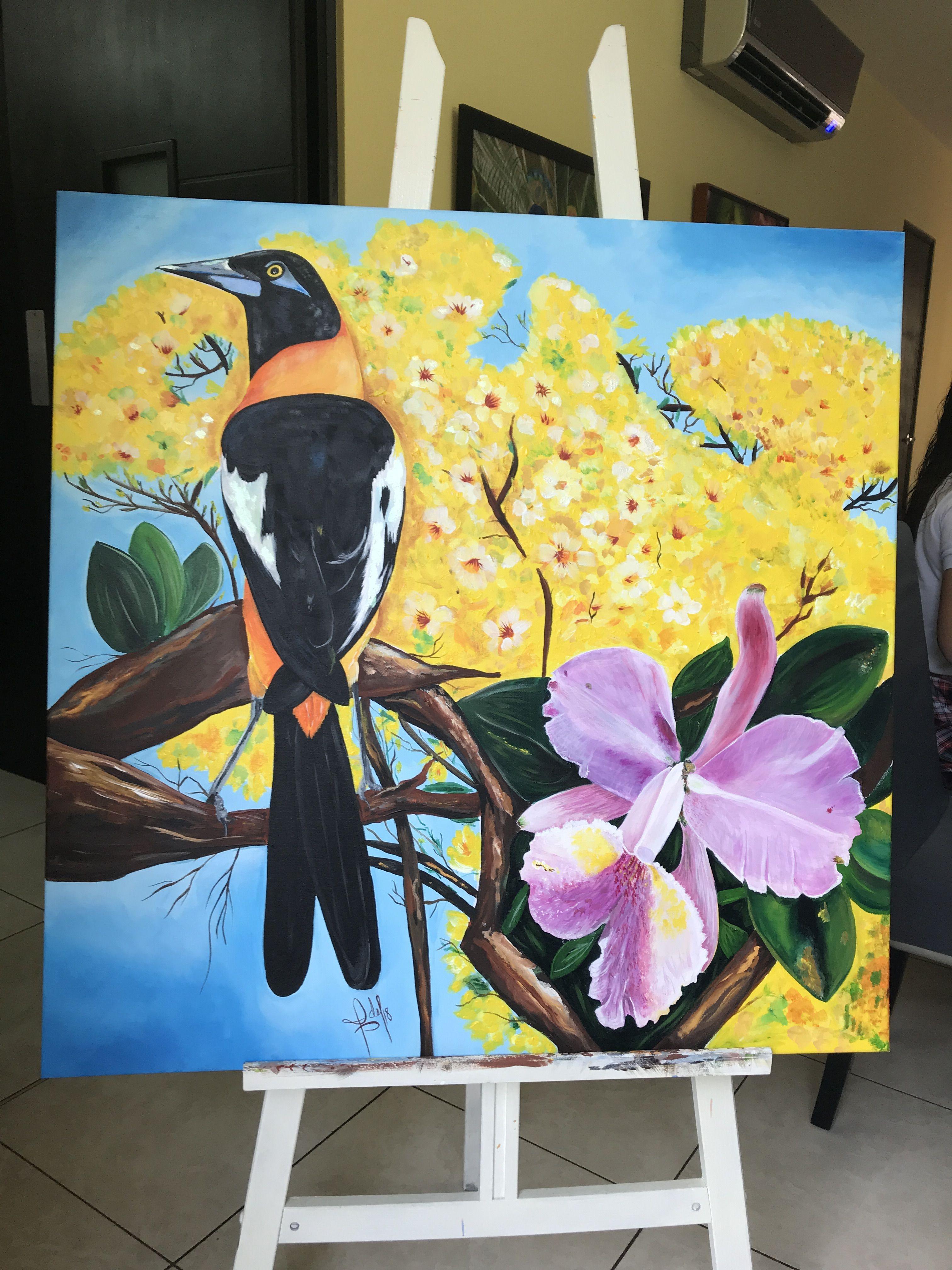Dibujos De Los Simbolos Naturales | venezuela s 237 mbolos patrios el araguaney la orqu 237 dea y el turpial simbolos patrios murales