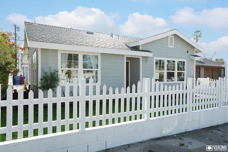 Outside of Kraft #home. White picket fence, beautiful scenery.   #VeronoHomes #realestate  http://www.verono.com/kraft/