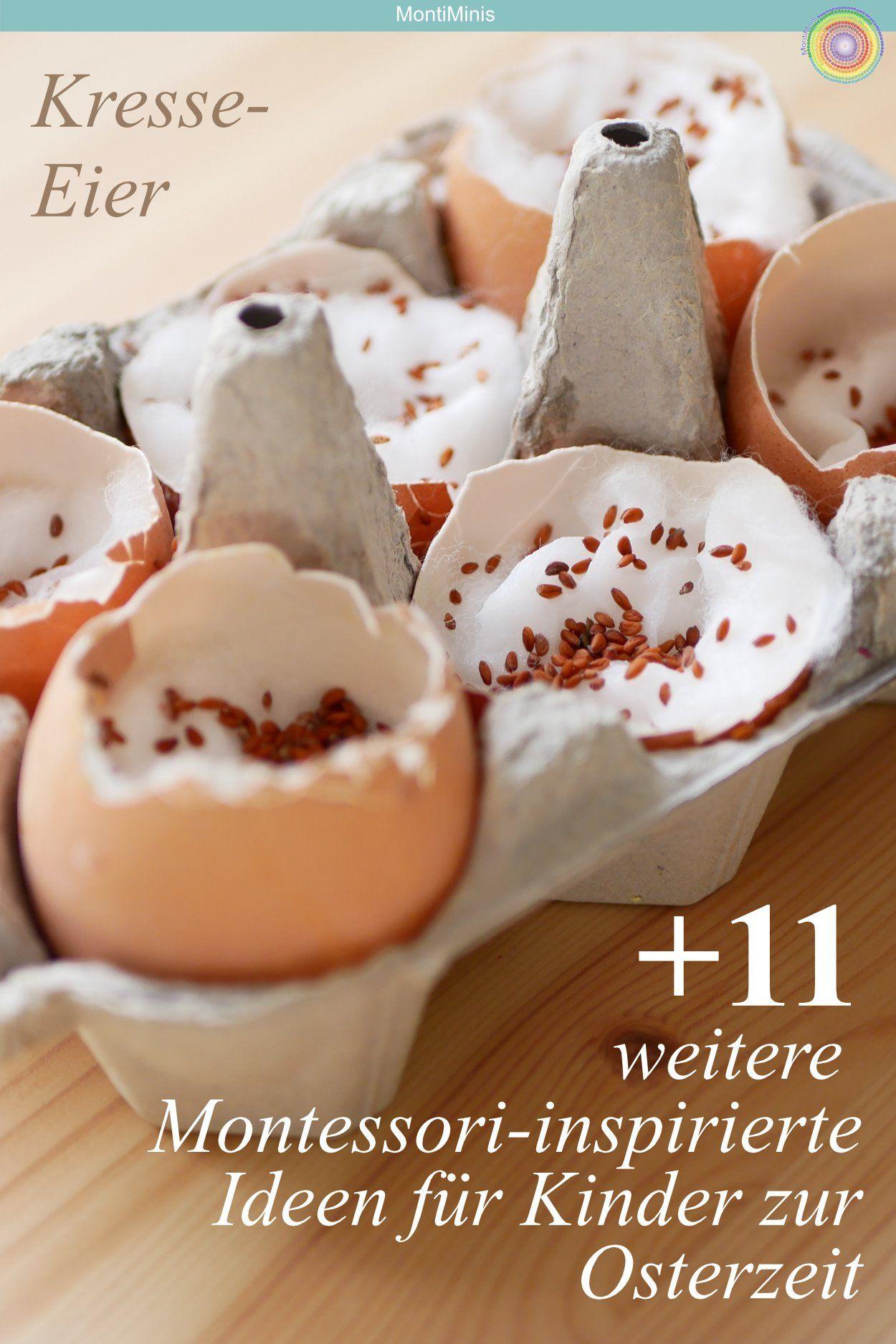 Kresse Eier + 11 weitere Montessori-inspirierte Ideen für Kinder zur Osterzeit -Spielideen zu Ostern